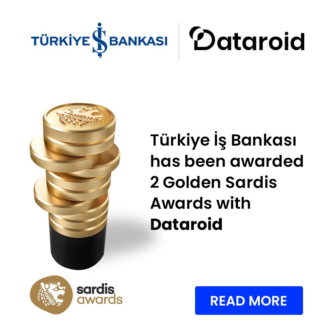 sardis ödülleri dataroid türkiye iş bankası